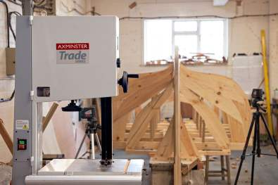 Axminster Trade Series bandsaw